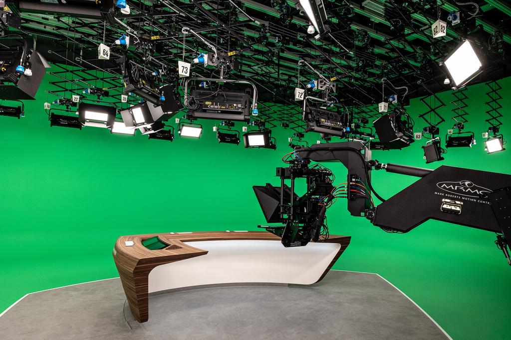 Ein Herzstück des neuen Studios ist die neue Kamera. (Foto: ZDF, Jana Kay)