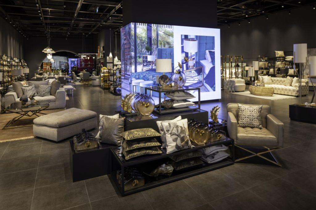 Der Living-Aura-Store ist insgesamt 350 Quadratmeter groß. (Foto: umdasch)