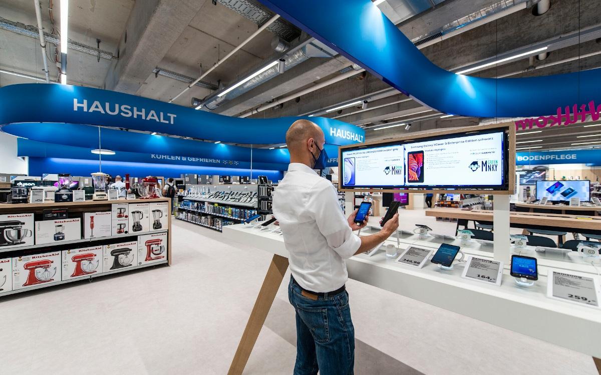 Neuer Euronics Flagshipstore in Bremen (Foto: Umdasch)