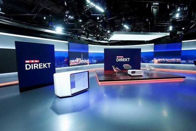 Neues RTL-Direkt Studio mit Leyard LED (Foto: Screenshot)