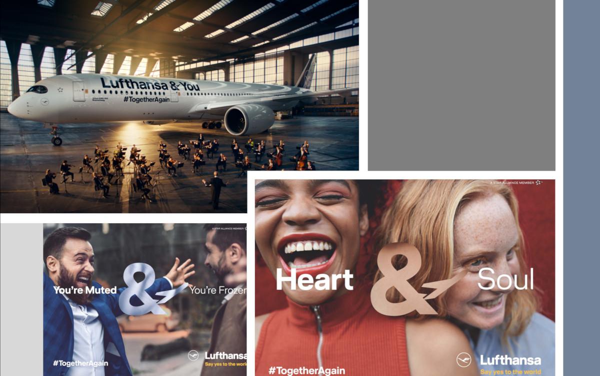 Lufthansa & You Kampagne auch auf OoH (Foto: Lufthansa)