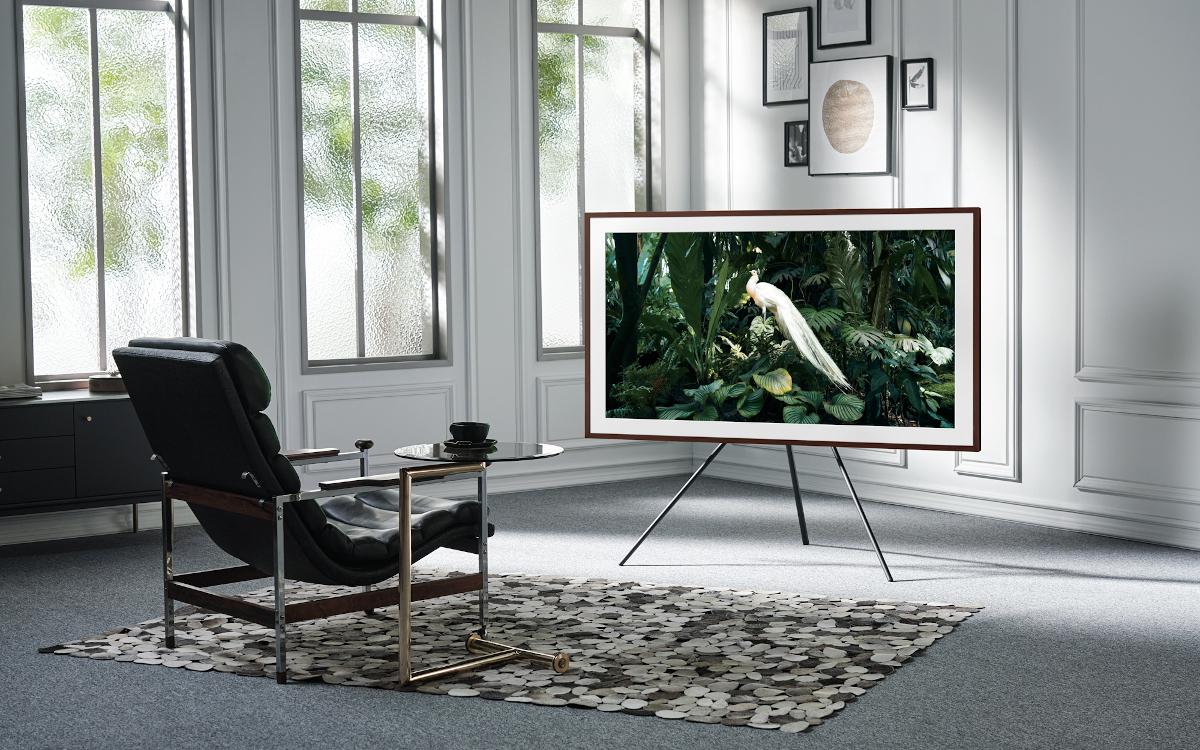 """Samsung Lifestyle TV The Frame jetzt auch in 85"""" erhältlich (Foto: Samsung)"""