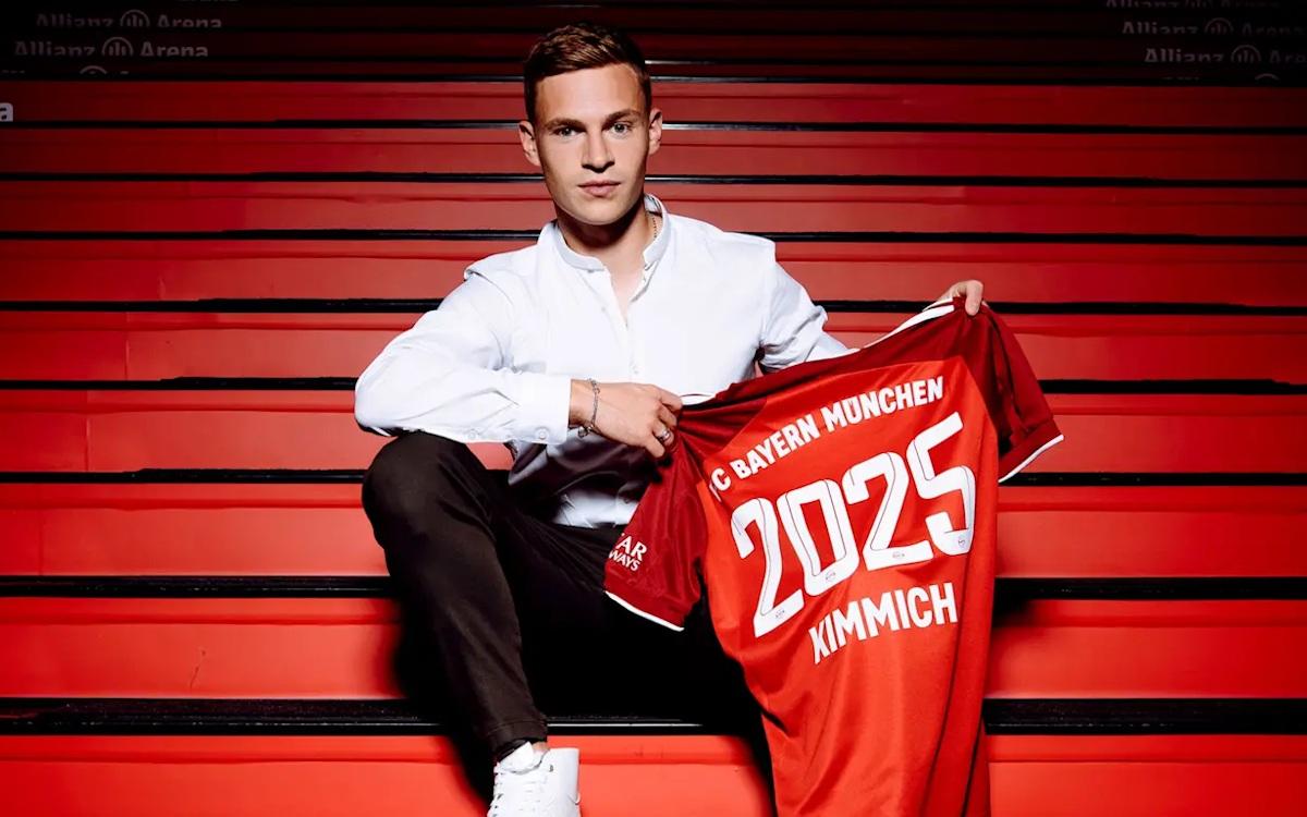 Joshua Kimmich verlängert beim FC bayern (Foto: FC Bayern)