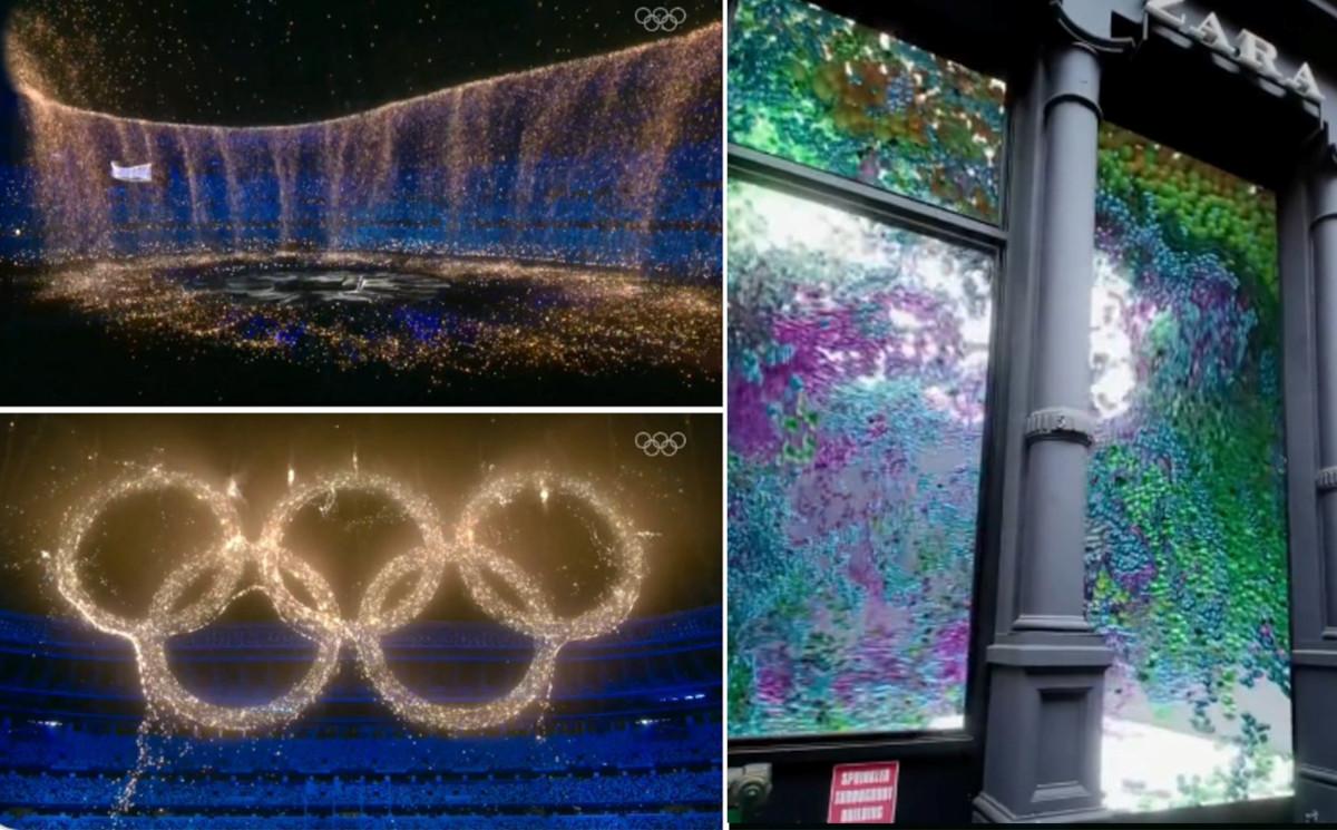 CGI trifft AR - Olympiaringe und Bällebad voll virtuell (Fotos: Screenshot)