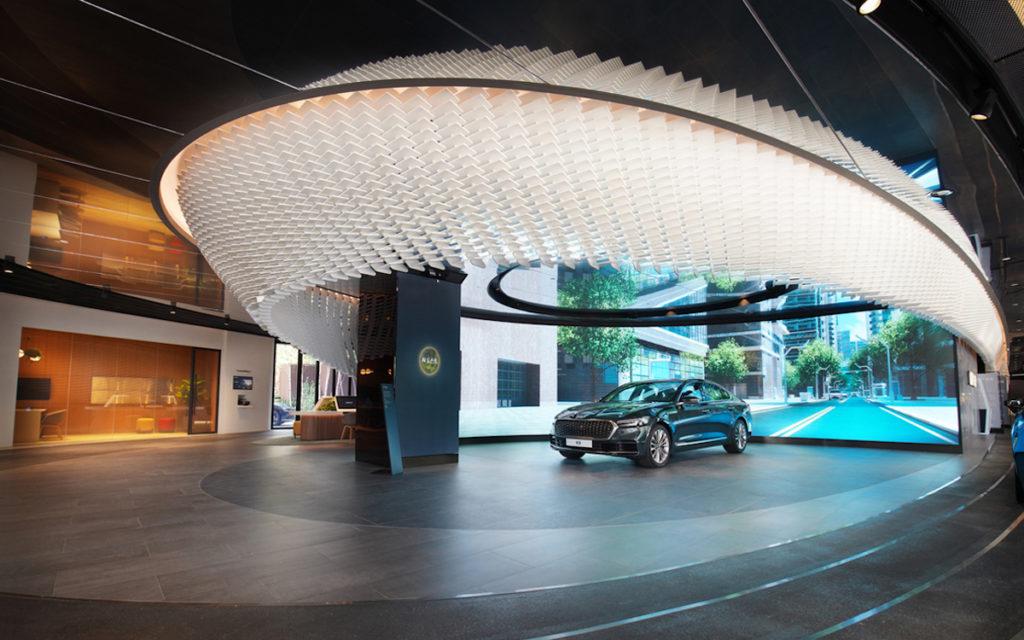 AI-Zone im Kia 360 Showroom in Seoul (Foto: Kia)