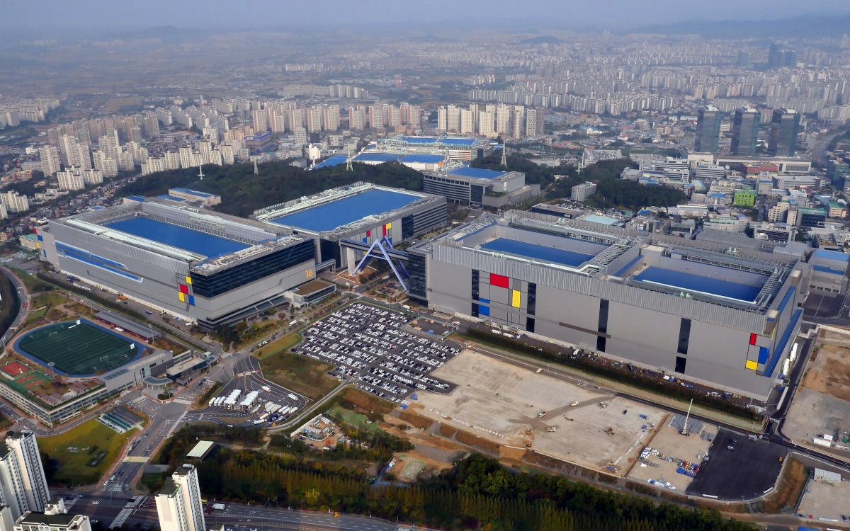 Noch Platz für weitere Fabriken . Samsung Nano City (Foto: Samsung)