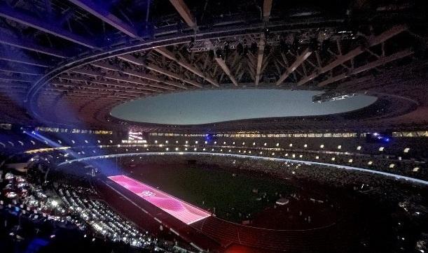 Panasonic Projection Mapping bei Tokyo 2020 (Foto: IOC/Panasonic)