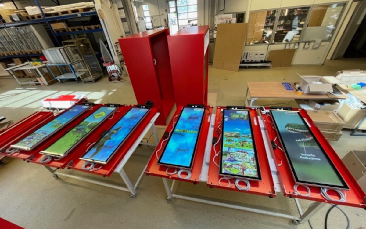 Digital-Signage-Work in Progress: Novisign ist an Pilotprojekt für Spielzeughandel beteiligt. (Foto: Novisign)