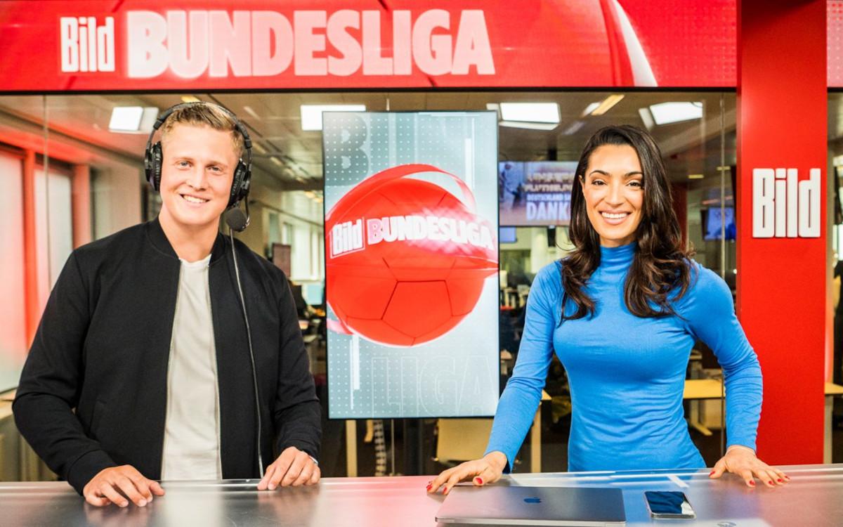 Neben einer Highlight-Show mit Corni Küpper und Valentina Maceri wird es auch eine DooH-Vermarktung der Bundesliga durch Axel Springer geben. (Foto: Axel Springer Verlag)