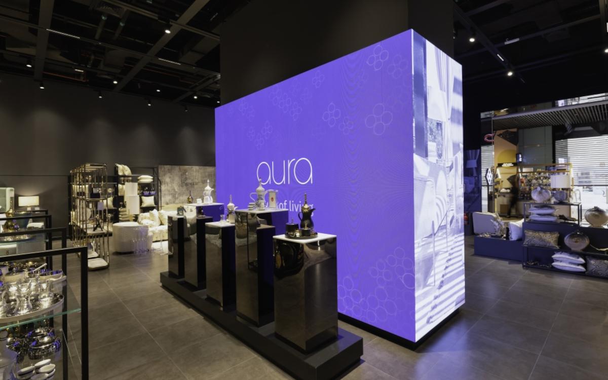 Aura Living hat einen neuen Shop in Dubai eröffnet - mit Hilfe von umdasch. (Foto: umdasch)