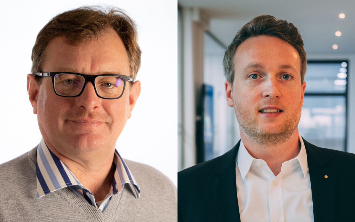 Wollen in eine neue Phase starten: Markus Doetsch (links) und Johannes Harries, Geschäftsführer von Heinekingmedia. (Fotos: heinekingmedia)
