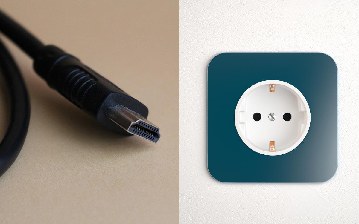 Mit dem HDMI-Powerline-Extender von Indy lassen sich HDMI-Signale über die Steckdose übermitteln. (Fotos: www_slon_pics/Pixabay(links); Csaba Nagy/Pixabay(rechts)