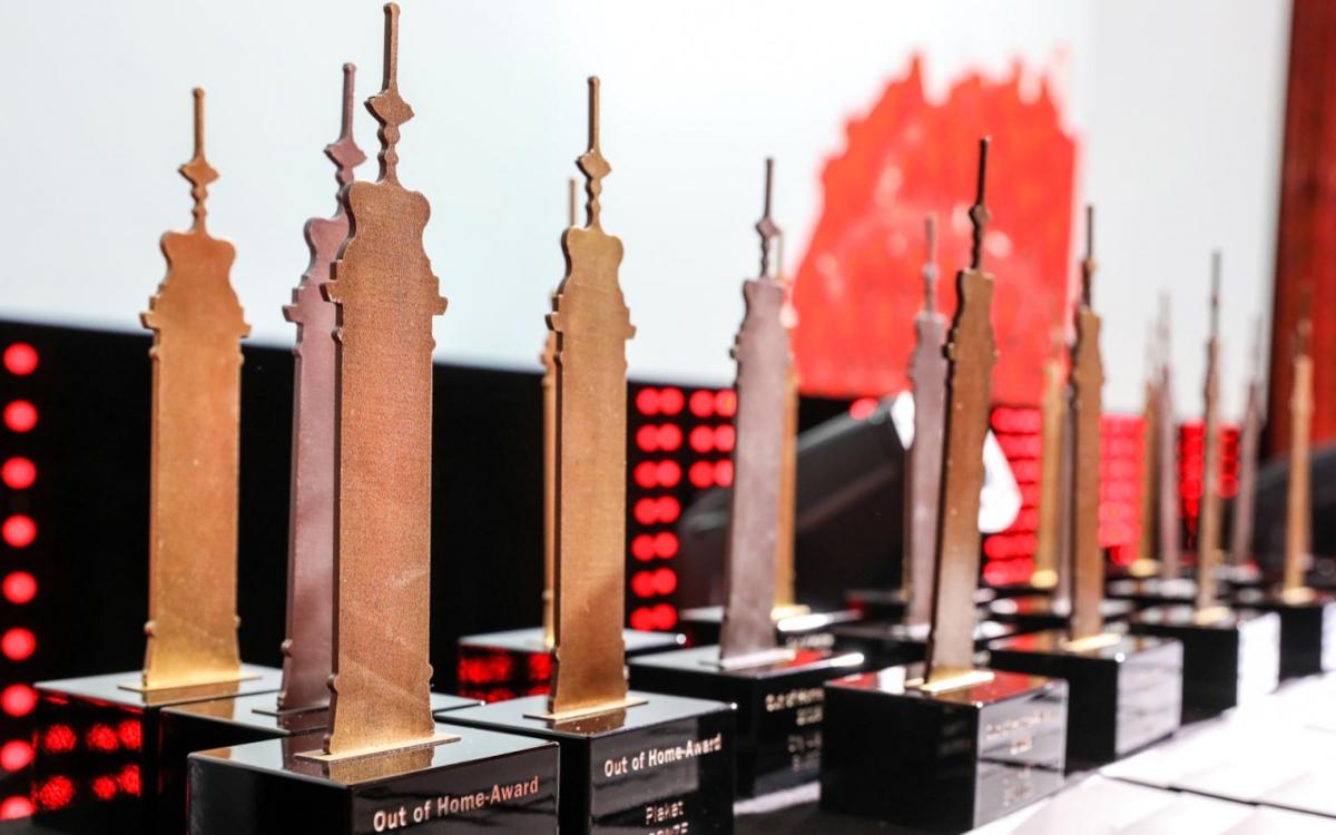 Dieses Jahr vergab Gewista die Out-of-Home-Awards zum 21. Mal. (Foto: Gewista)