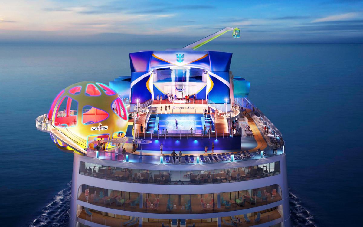 """Die """"Odyssey of the Seas"""" ist mit zahlreichen Attraktionen ausgestattet – viele davon unterstützt durch Digital Signage. (Foto: Royal Carribean)"""