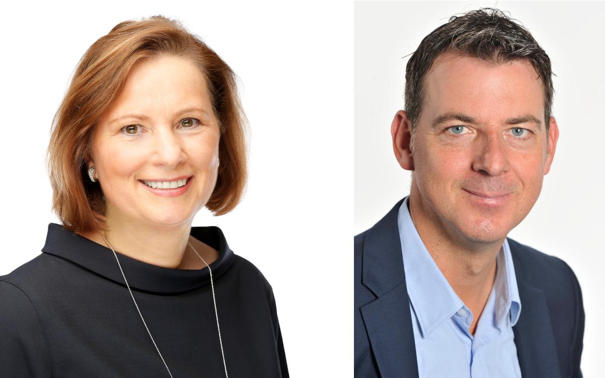 Barbara Koch und Michael Görner von Tech Data (Fotos: Tech Data)