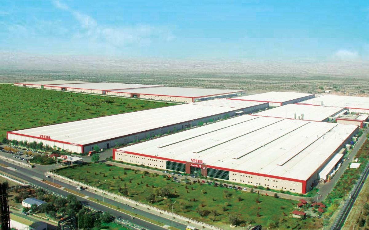 In der Vestel-Fabrik arbeiten 19.000 Personen auf 1,3 Millionen Quadratmetern. (Foto: Vestel)