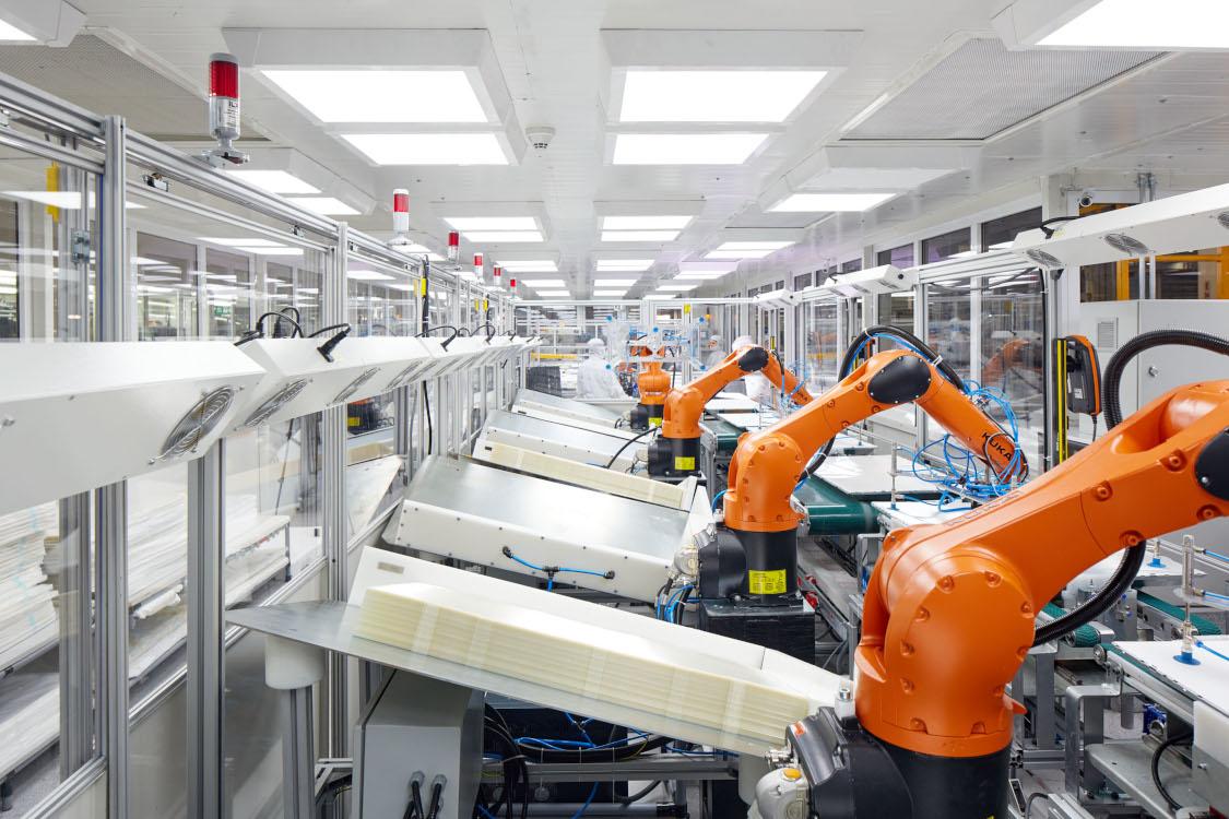 Einblicke in die Vestel-Produktion (Foto: Vestel)