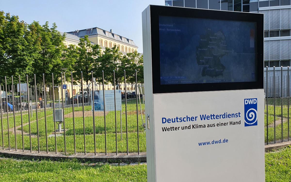 Leider nicht viel Durchblick mit Digital Signage an der Wetterstation – woran liegt es? (Foto: invidis)