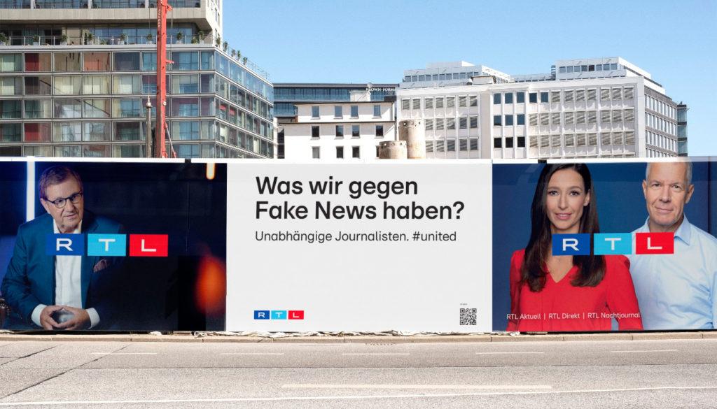 Die neue RTL-Marketingkampagne (Mockup, Foto: RTL)