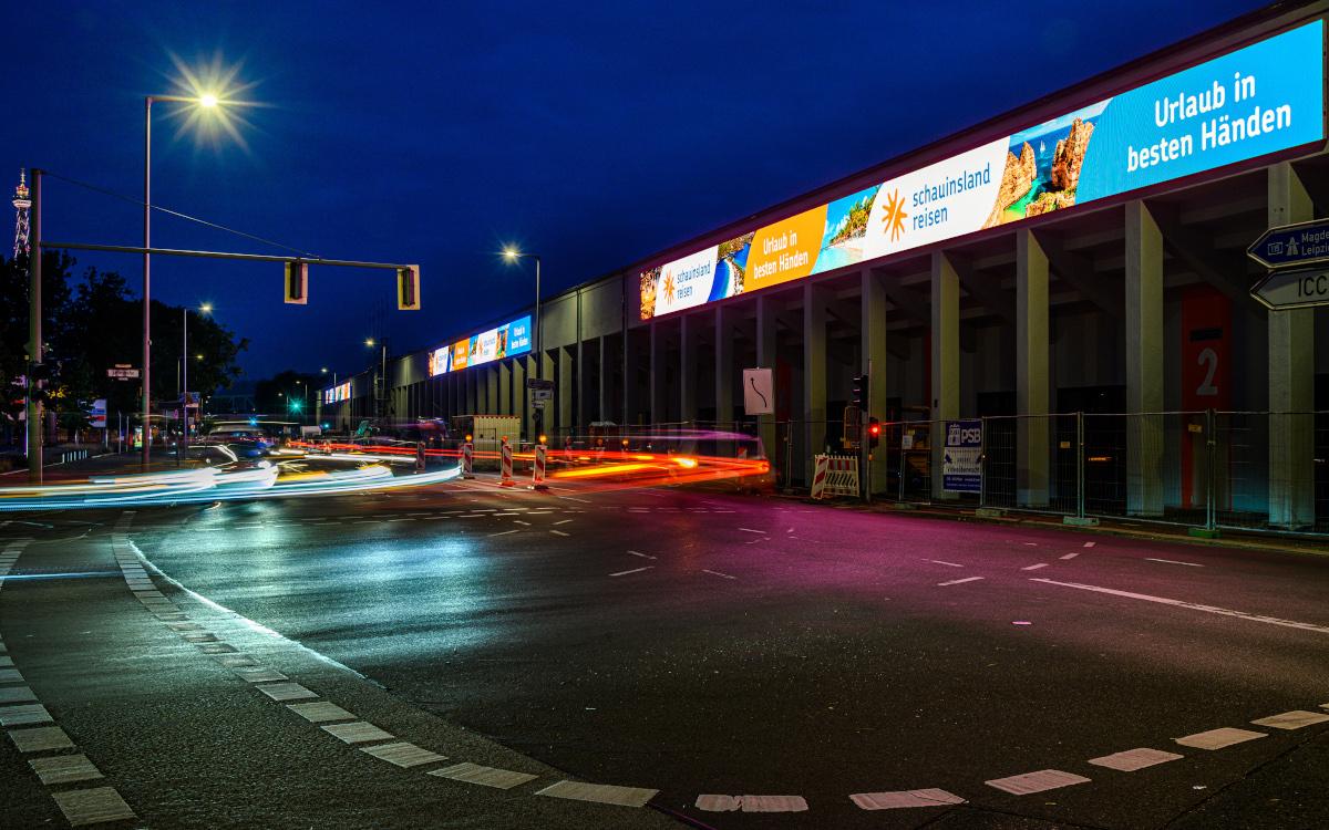 AVUS LED-Wall in Berlin (Foto: Verner & Friends)