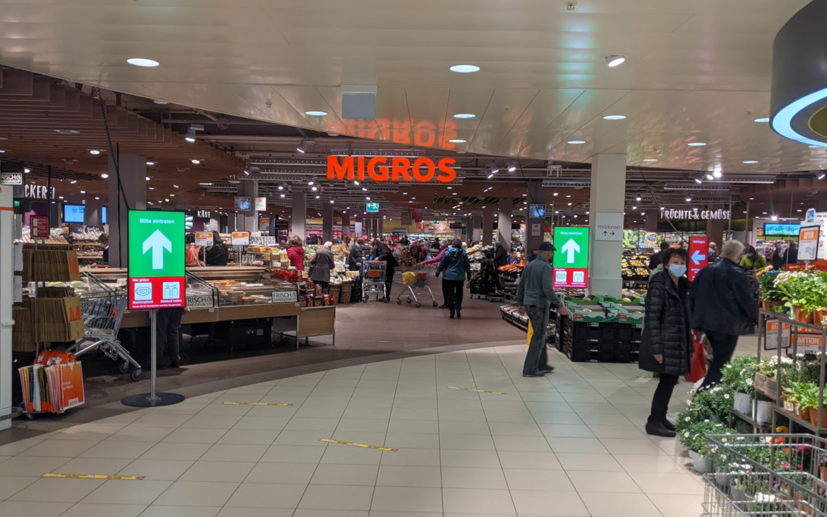 Migros Shoppyland außerhalb von Bern (Foto: invidis)