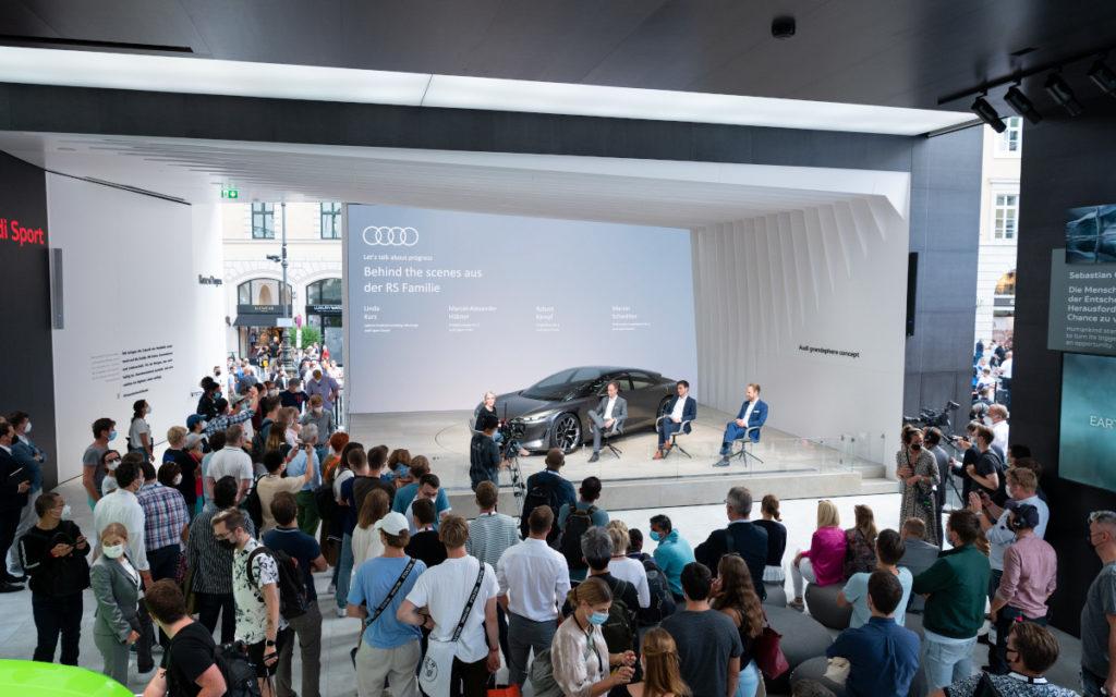 Keiner setzte auf mehr LED als Audi (Foto: Messe München)
