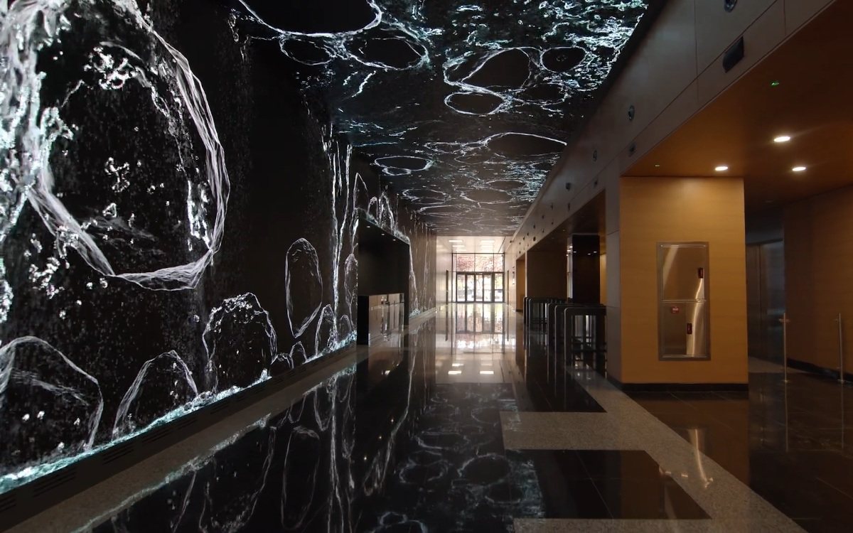 Aqua Lobby Experience in Madrid (Foto: Screenshot)