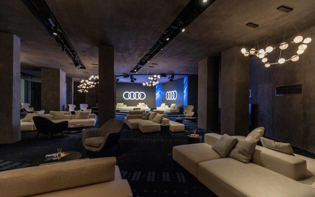 Audi City Lab auf der Milan Design Week 2021 (Foto: Audi)
