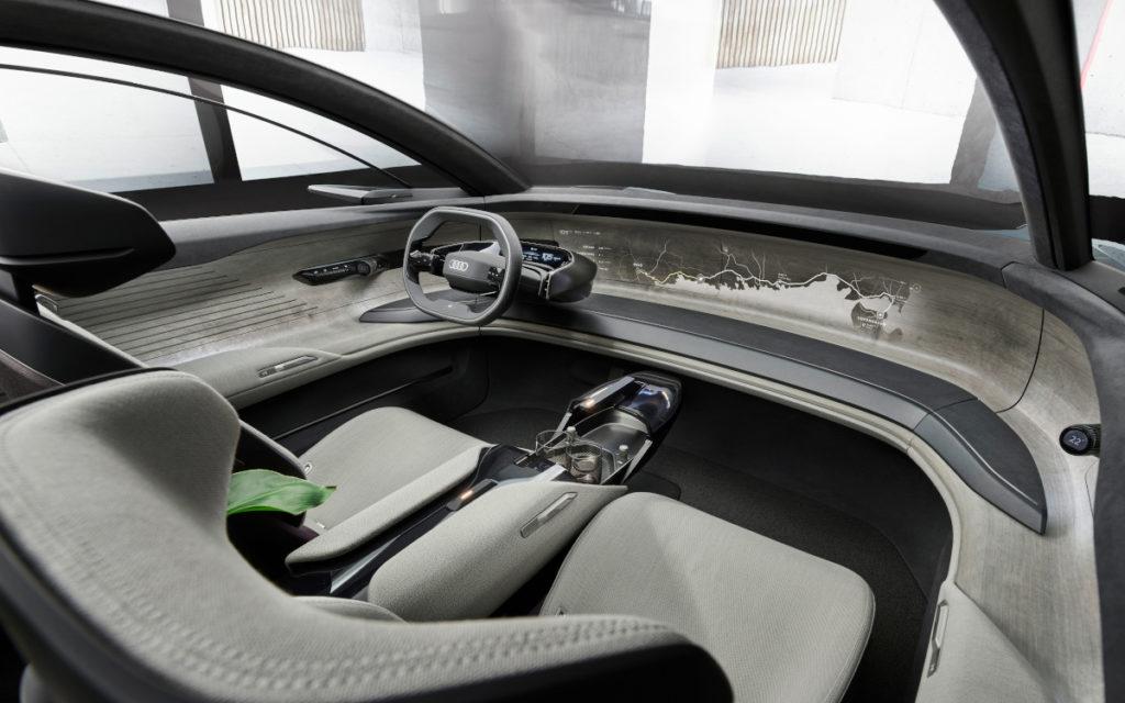 Projektion statt Displays - Audi Grandsphere Concept (Foto: Audi)