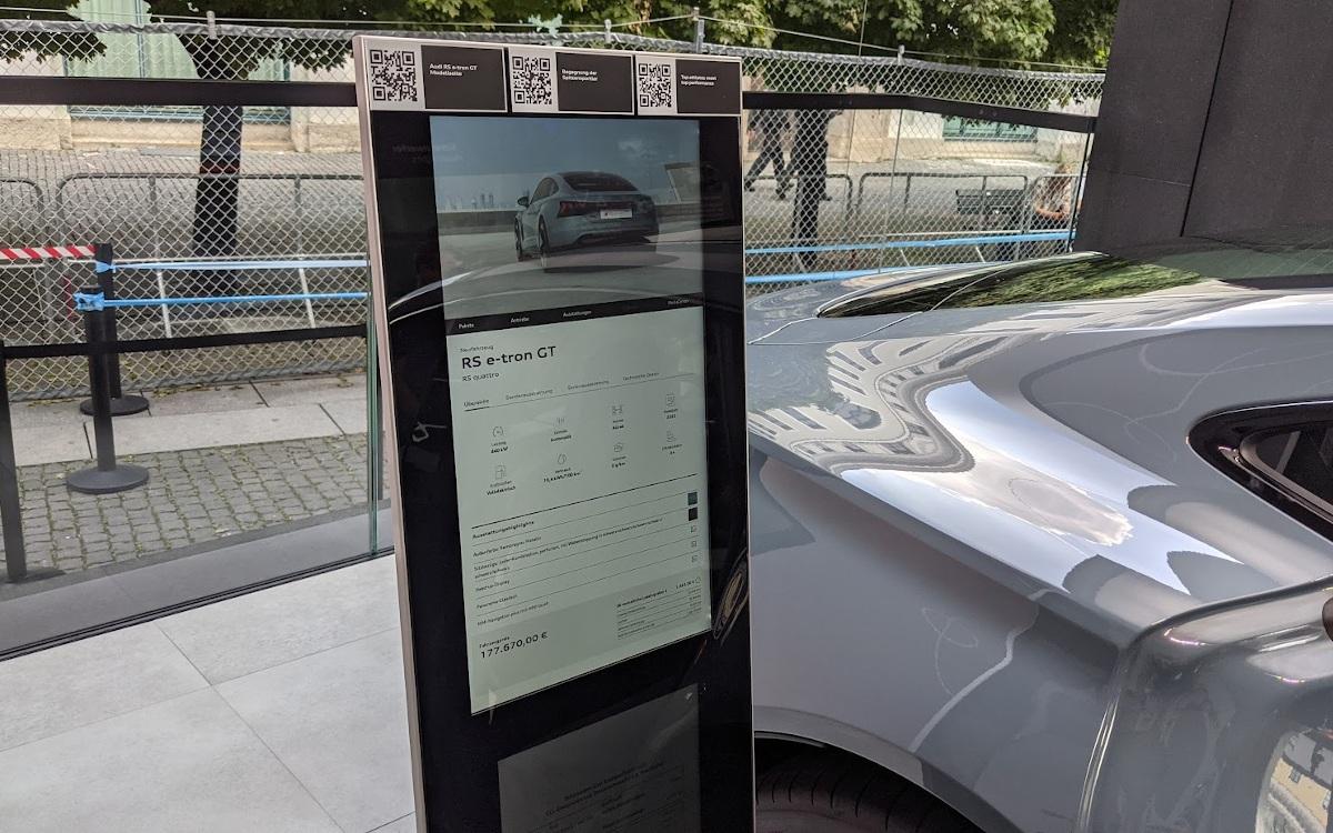 Audi Carstand auf der IAA Mobility (Foto: invidis)