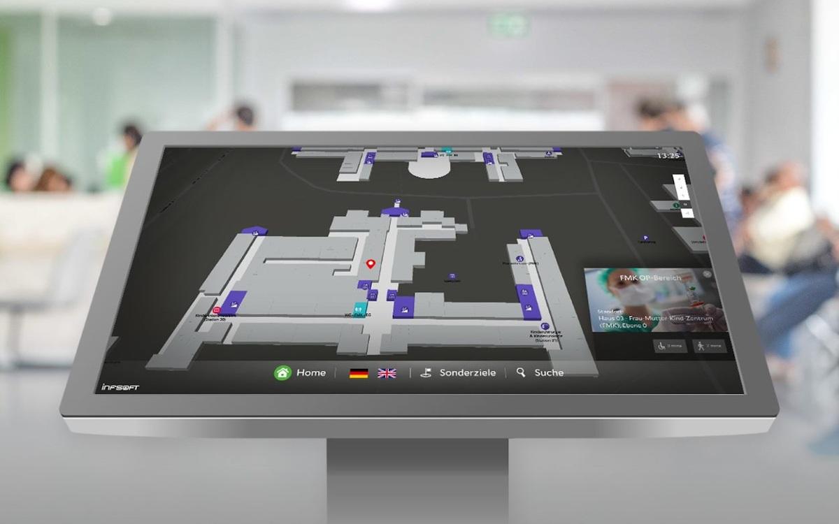 Wayguiding Plattform von Infsoft (Foto: Infsoft)