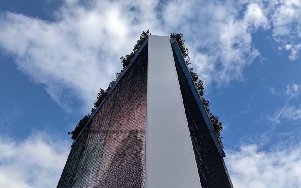 Temporäre IAA-Mobility Stele in München (Foto: invidis)