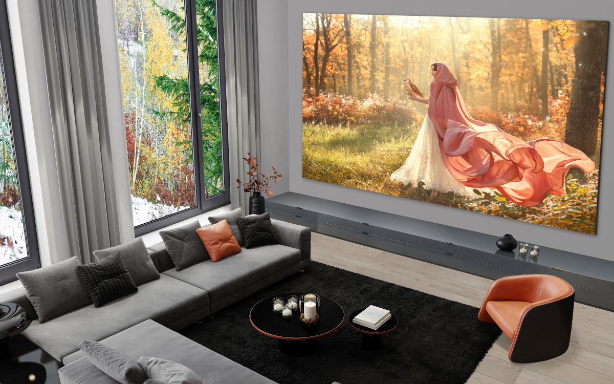 LG Extreme Home Cinema bis zu 8m/8k MicroLED (Foto: LG)