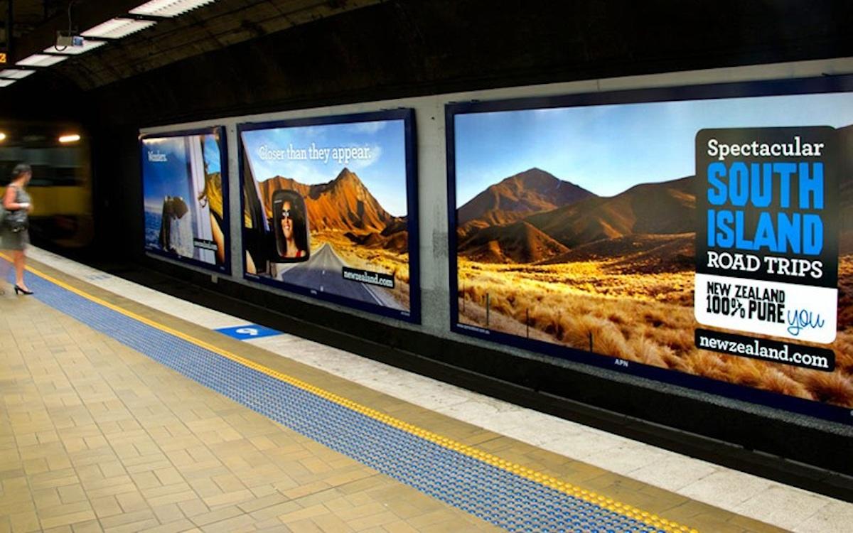 DooH in Sydney Trains Bahnhöfen (Foto: JCDecaux)