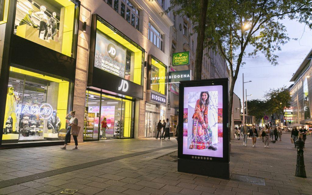 MarcCain Kampagne in Wien (Foto: Gewista)