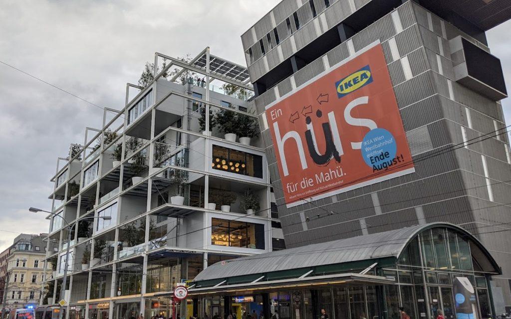 Ikea in der Stadt - Wien Westbahnhof (Foto: invidis)