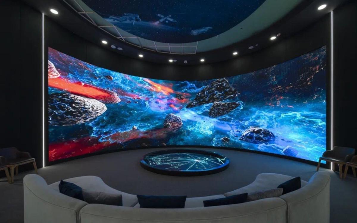Absen-Displays im 5G Innovation Center in Gansu, China. (Foto: Absen)
