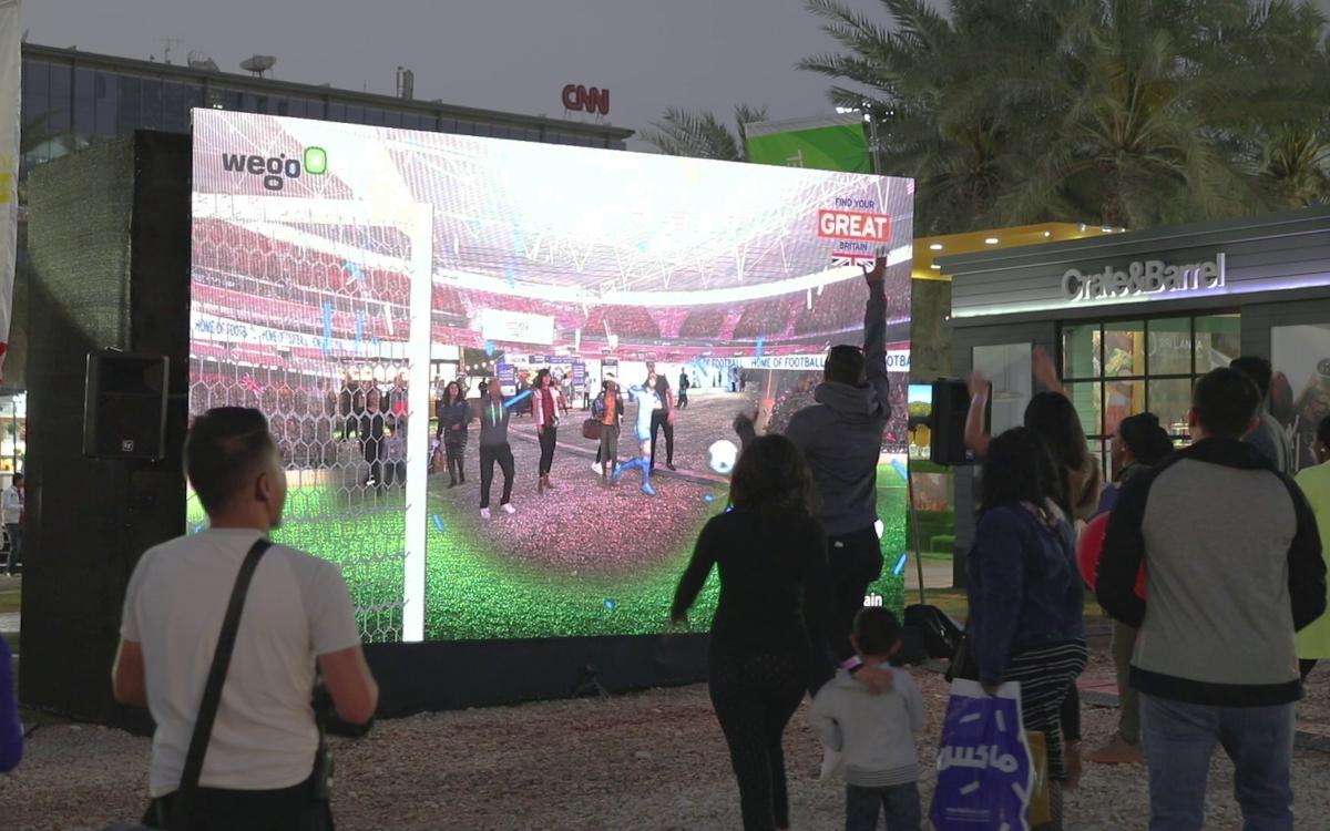 Mit Magic Mirror sind AR-Anwendungen im Großformat möglich. (Foto: 3rockAR)