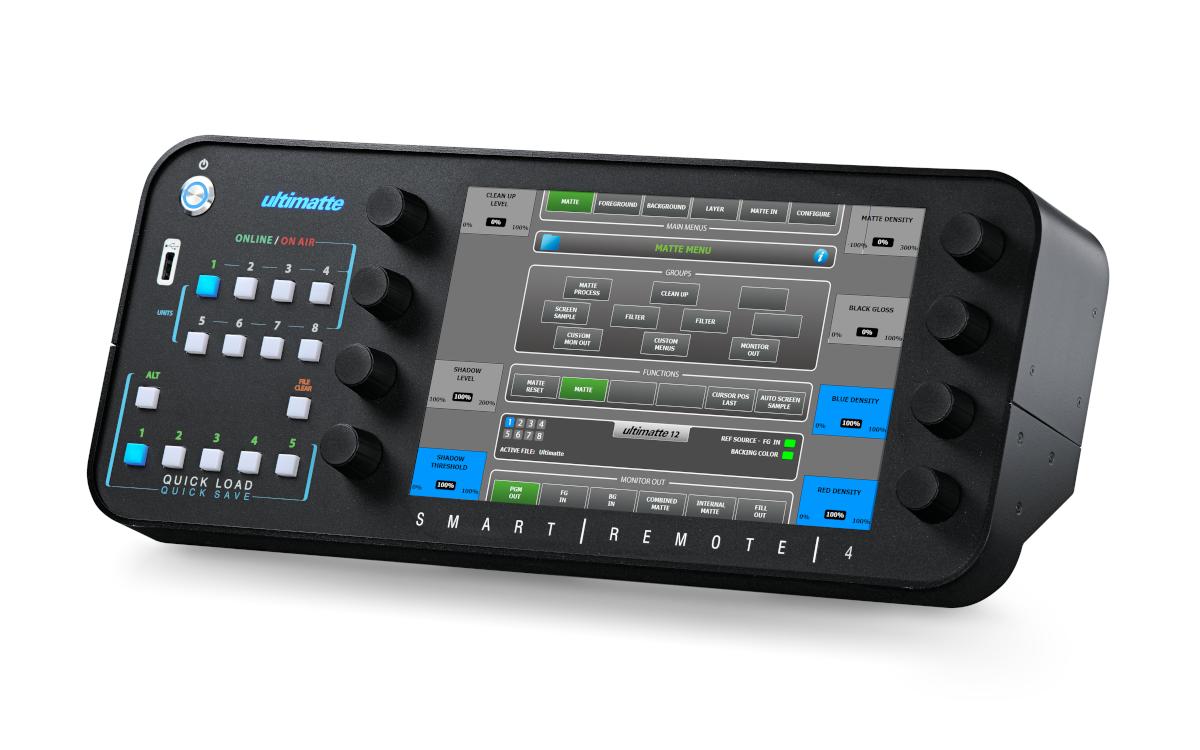 Unter anderem neu bei Pro-AV-Technikvermieter Bildkraft: der Compositing-Prozessor Ultimatte 12 (Foto: Bildkraft)
