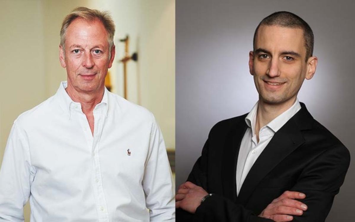 Radiopark-Geschäftsführer Arndt-Helge Grap kündigte den neuen Österreich-Standort an, den Bernhard Grabner (rechts) leitet. (Foto: Radiopark)
