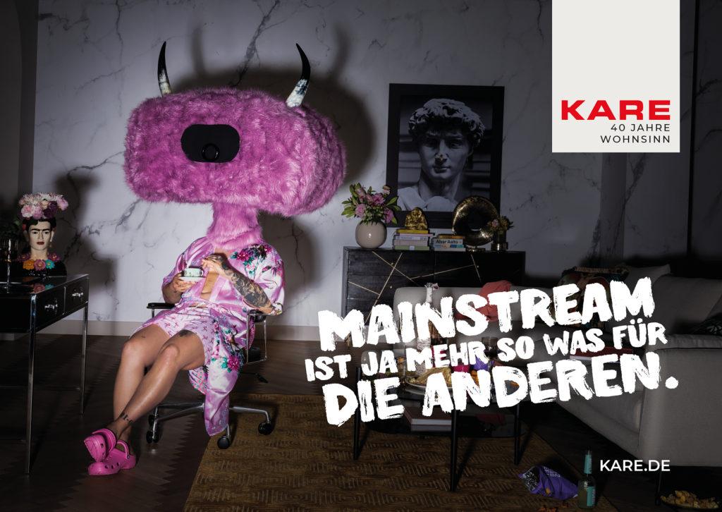 Motive der Kare-Kampagne von crossvertise. (Foto: kare.de)