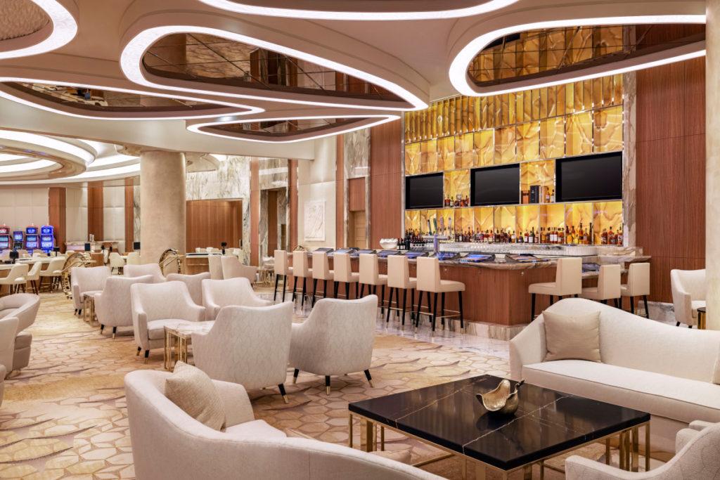 Layar dapat ditemukan di seluruh Resorts World.  (Foto: Resorts World Las Vegas)