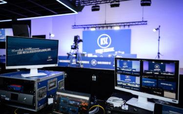 Der KSC zu Gast bei multi-media systeme (Foto: Karlsruher SC/GES; multi-media systeme)