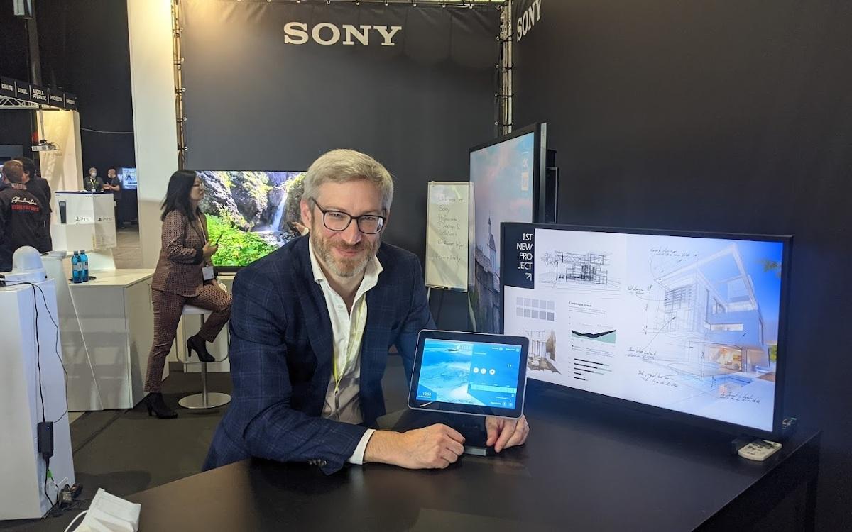 Joachim Fischer von Sony auf der Medialog in Mainz (Foto: invidis)