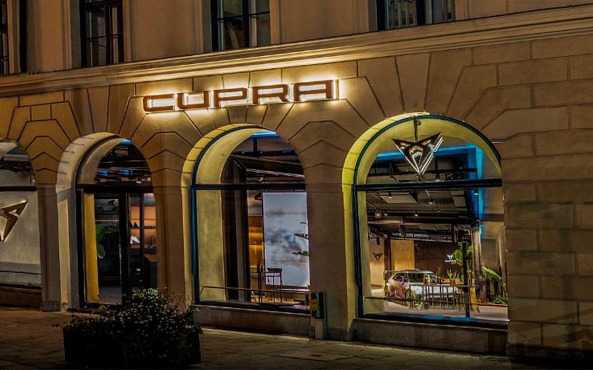 Cupra Garage Showroom in München (Foto: Cupra)