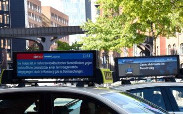 """Für den Konzeptansatz """"Call-a-Data-Cab"""" wurde UZE Mobility im Rahmen des 5G-Loginnov-Projekts ausgezeichnet. (Foto: UZE Mobility)"""