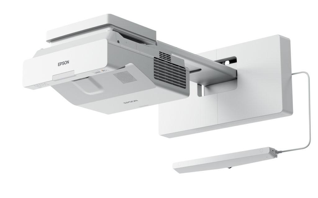 Zusammen mit interaktiven Projektionssystemen, wie dem Epson EB-735Fi, macht Go-Board Whiteboards interaktiv. (Foto: Epson)