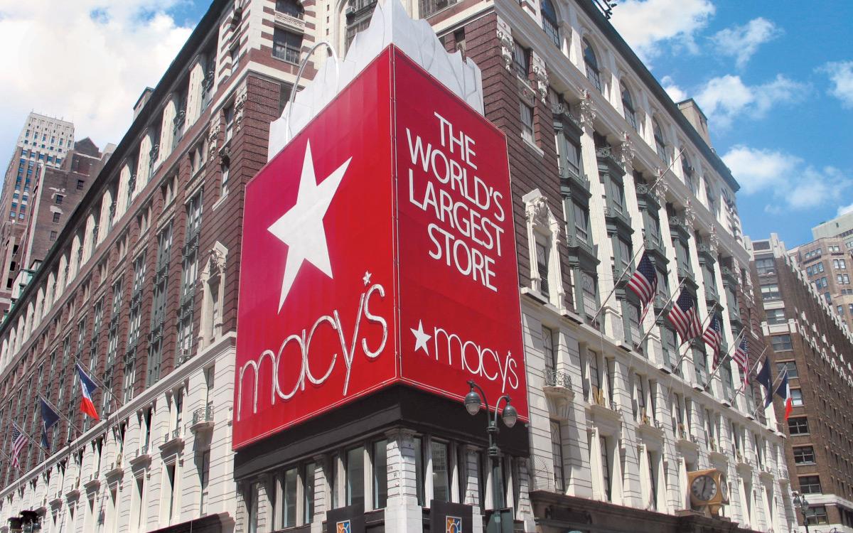 Das Macy's-Kaufhaus in Manhattan, New York City. (Foto: Macy's)
