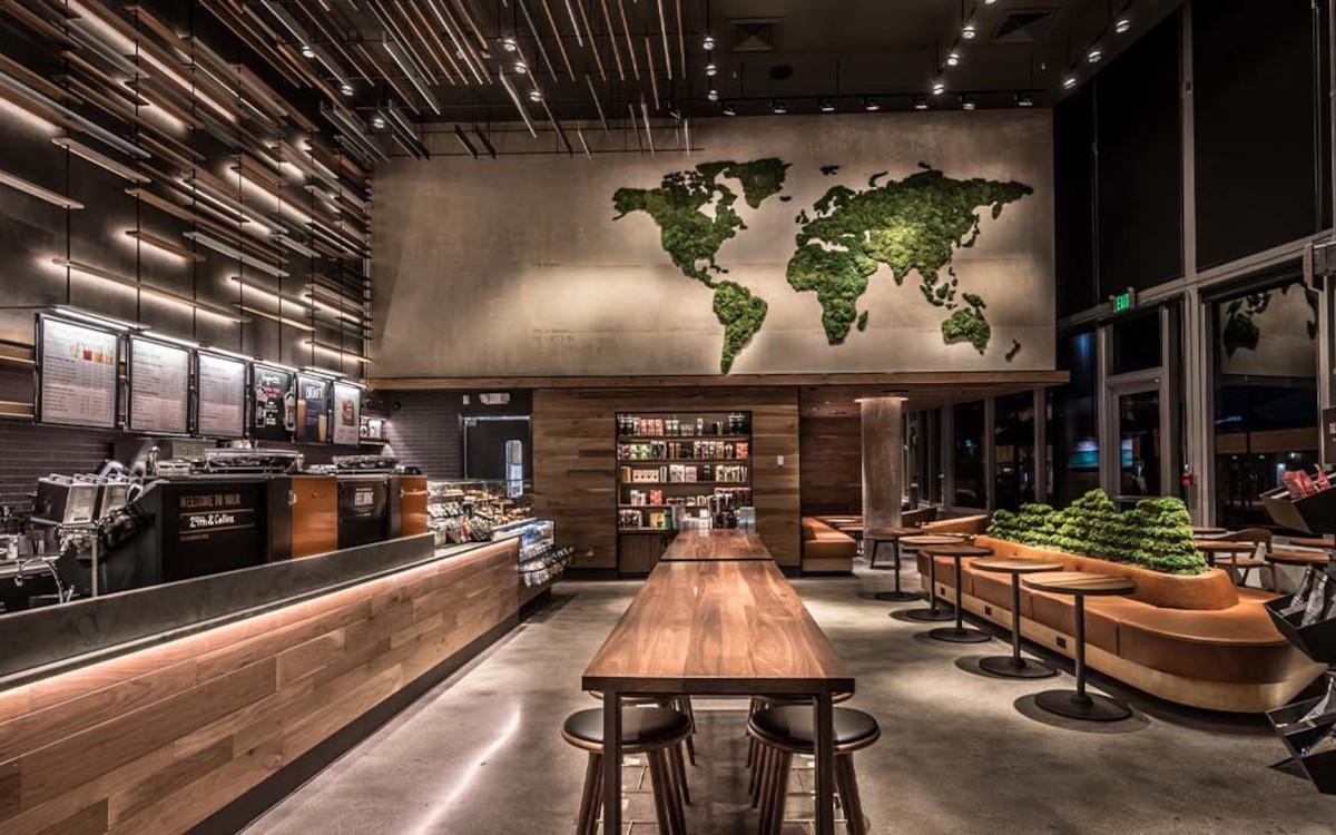 """Die """"Greener Stores"""" von Starbucks sind auf einen nachhaltigeren Betrieb ausgelegt. (Foto: Starbucks)"""