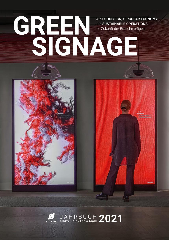 Titel Digital Signage DooH invidis Jahrbuch 2020/2021 - Deutsche Ausgabe
